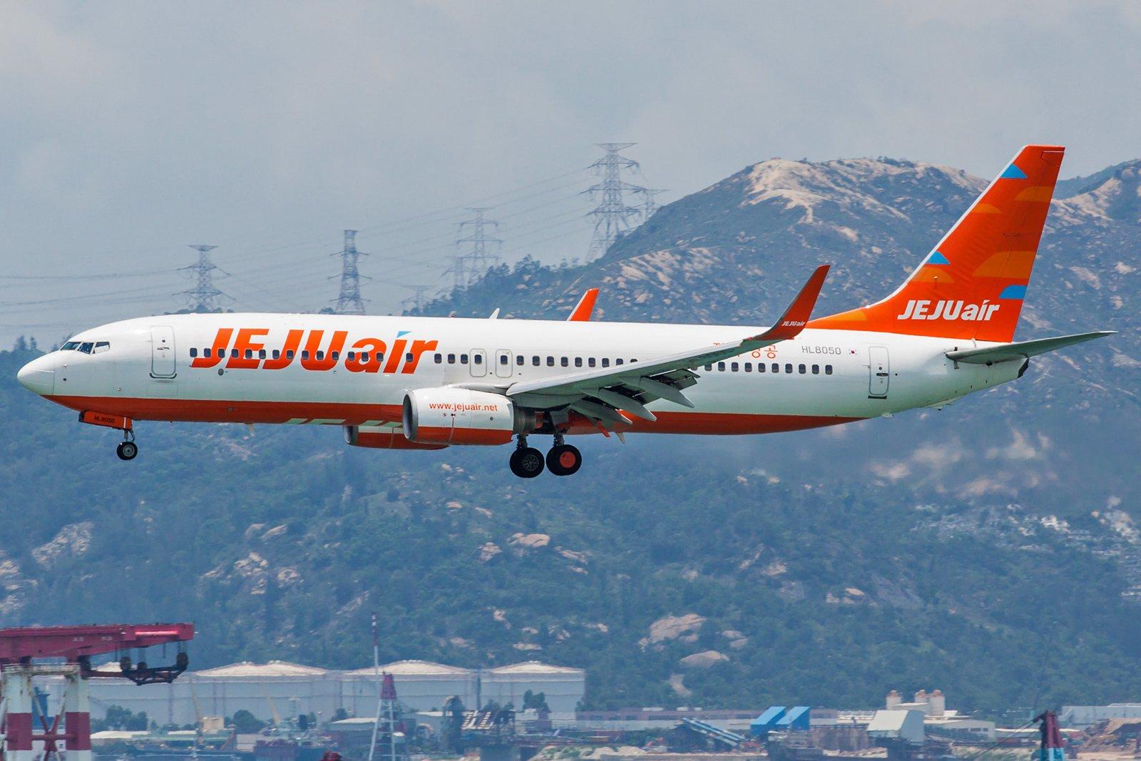 Jeju Air Boeing 737-8AS(WL) HL8050