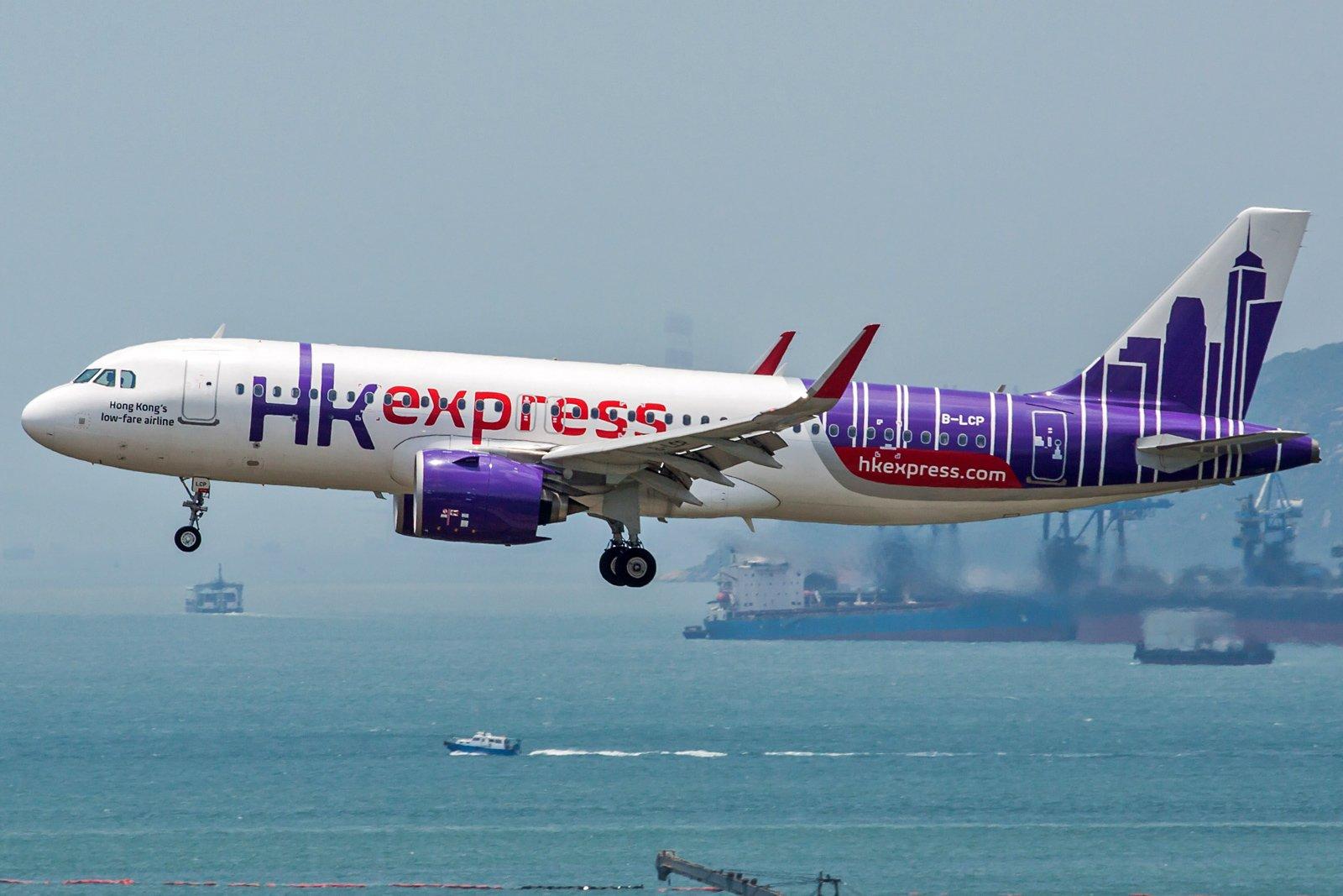 Hong Kong Express Airbus A320-271N B-LCP