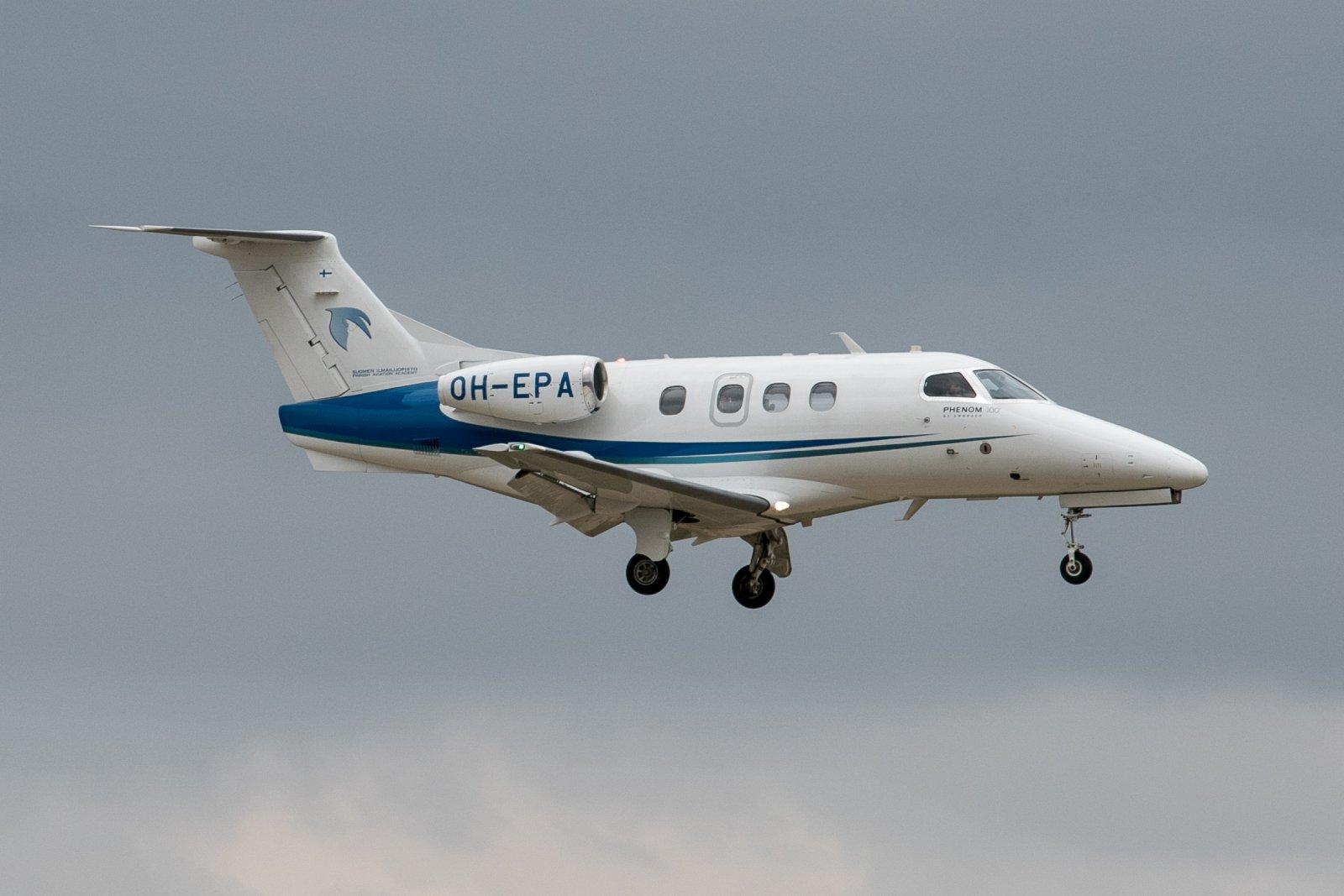 OH-EPA. Embraer Phenom 100. 17.7.2019