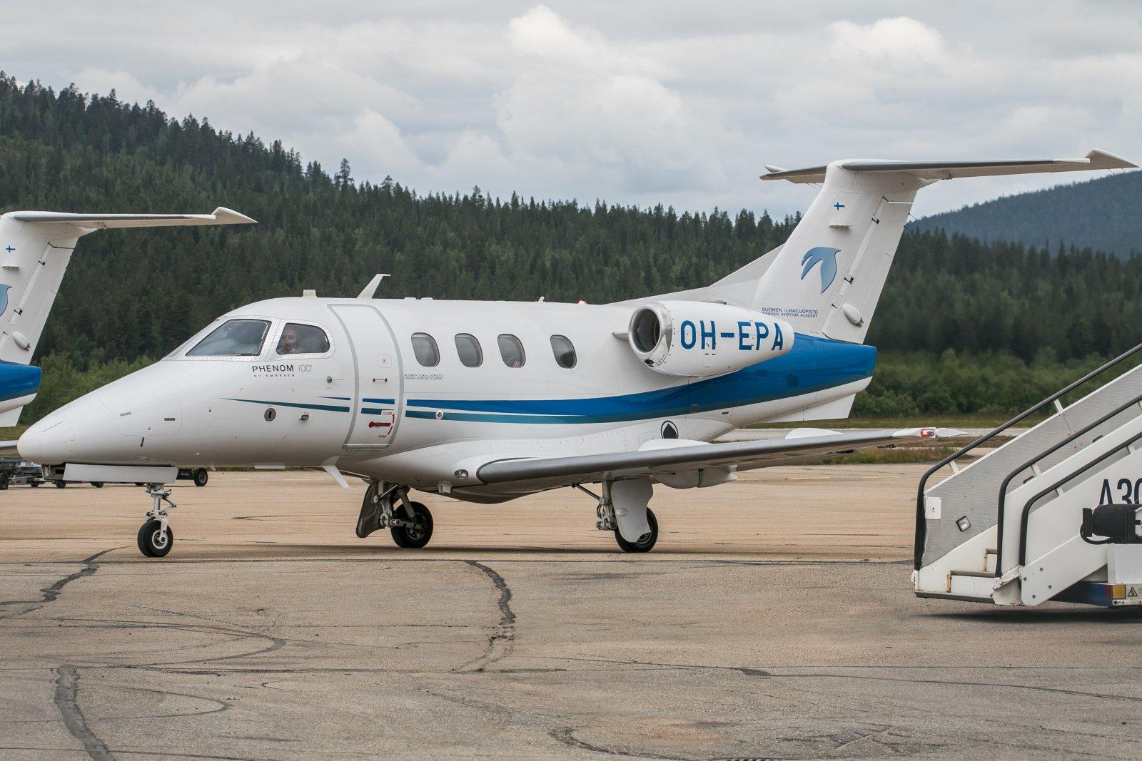 OH-EPA. Embraer Phenom 100. 16.7.2019