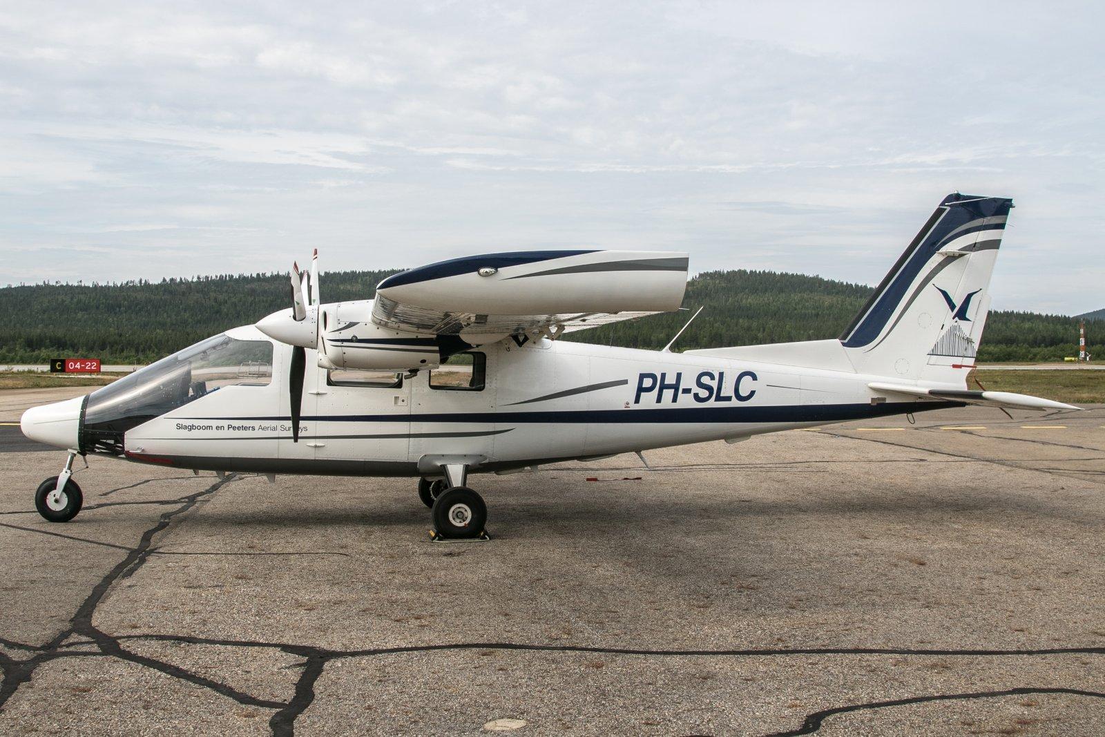 PH-SLC. Partenavia P-68 Observer. 24.7.2019