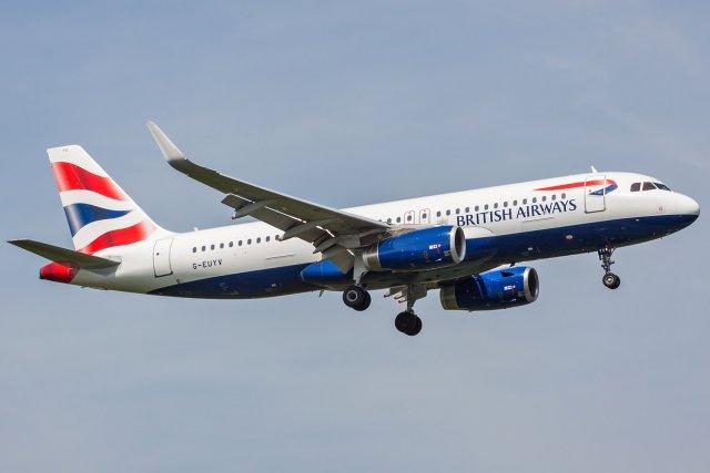 British Airways Airbus A320-232(WL) G-EUYV