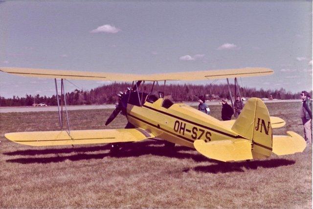 Focke-Wulf Fw 44J Stieglitz OH-SZS EFTU 1970s