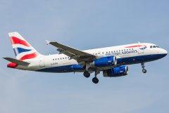 British Airways Airbus A319-131 G-EUPB