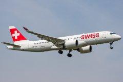 Swiss Bombardier CSeries CS300 (BD-500-1A11) HB-JCE