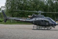 OH-HEA. Eurocopter AS350-B3 10.7 Ivalon tapahtumatorilla.