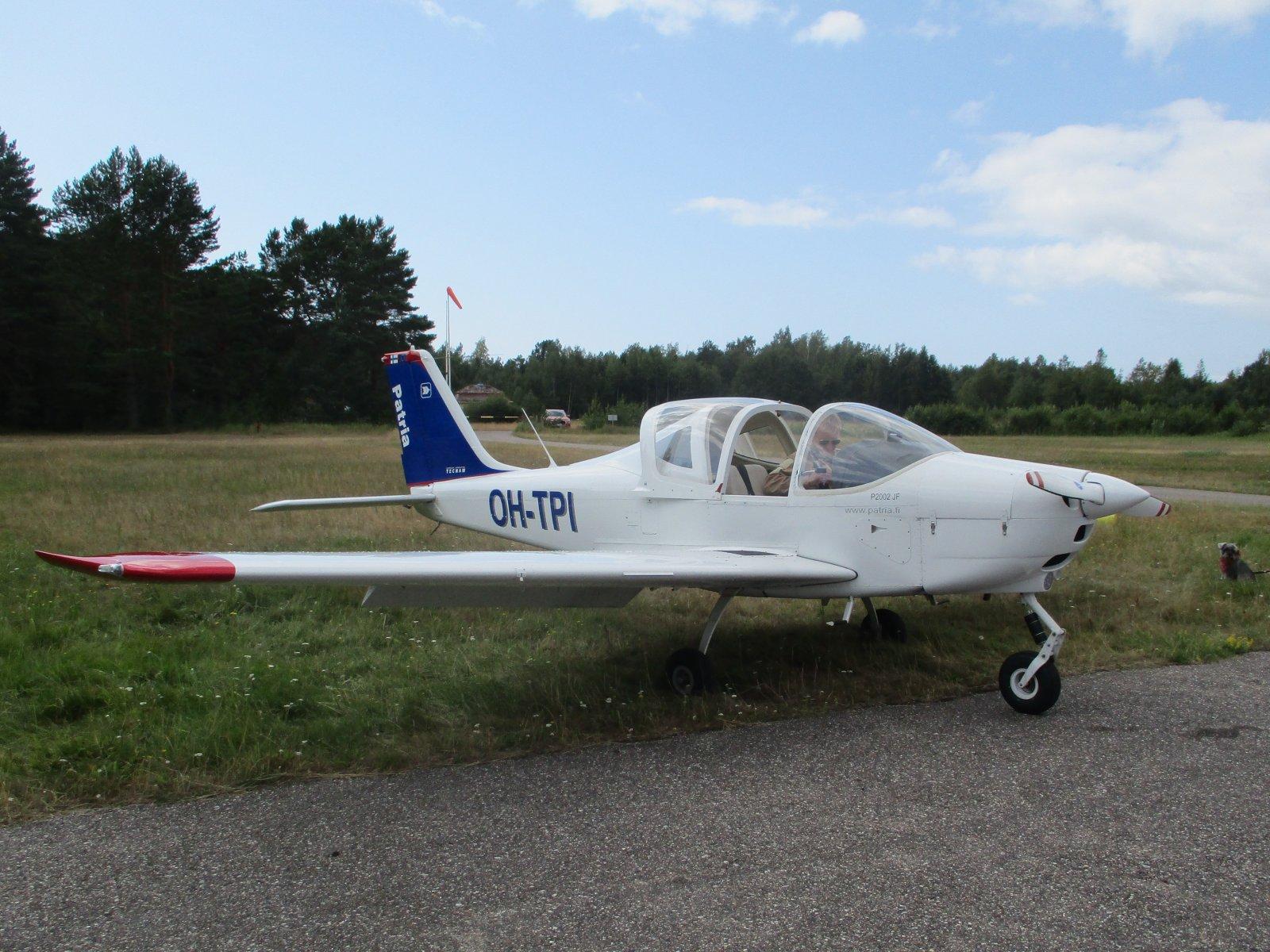 Tecnam P2002 JF OH-TPI EFHN 2019-08-01