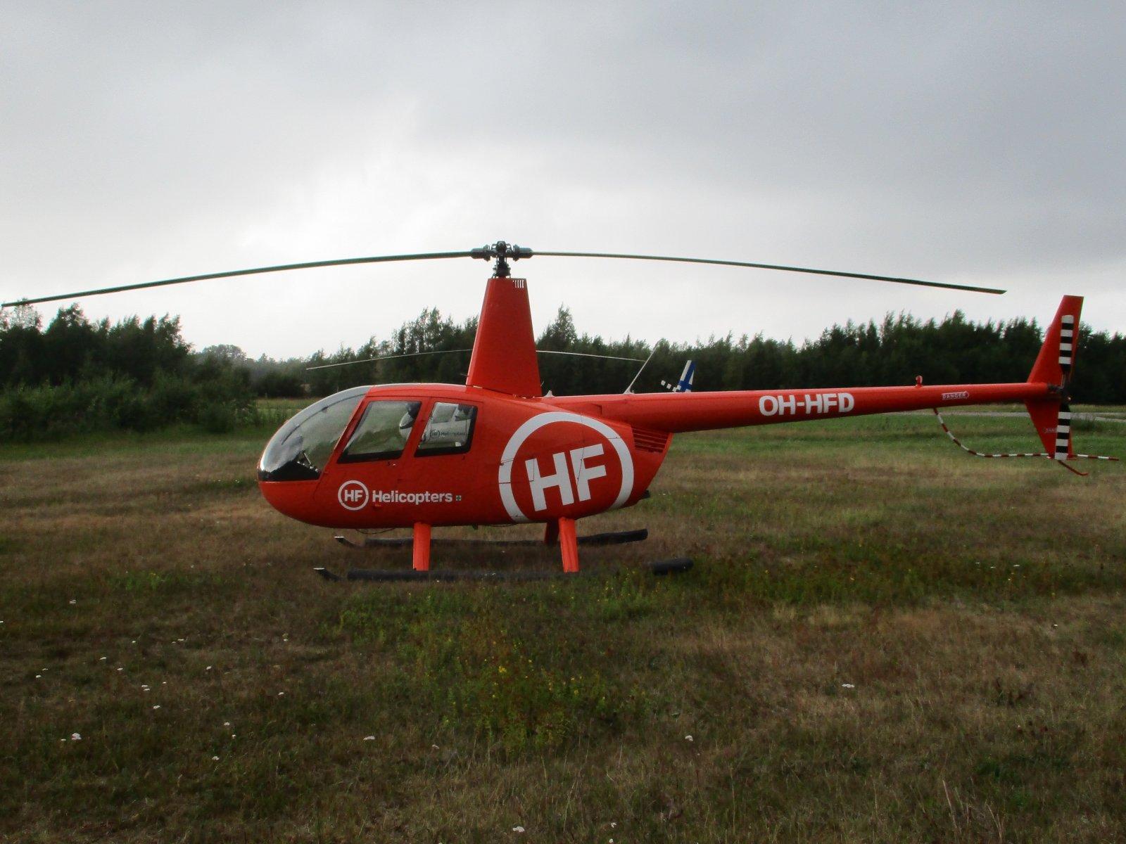 Robinson R44 Clipper II OH-HFD EFHN 2019-08-11