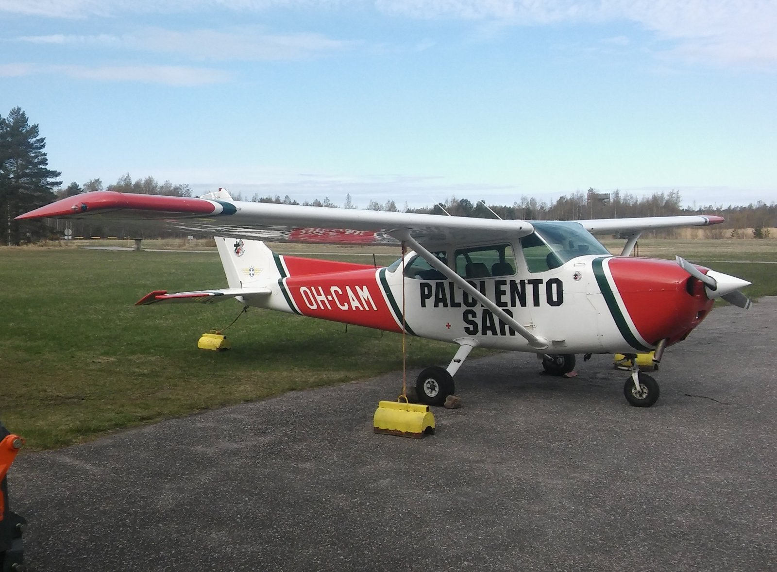 Cessna 172P Skyhawk II OH-CAM EFHN 2019-05-09