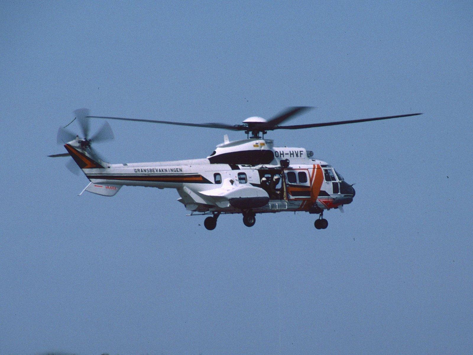 Aerospatiale A.S.332L1 Super Puma OH-HVF EFHF 1988-05-14