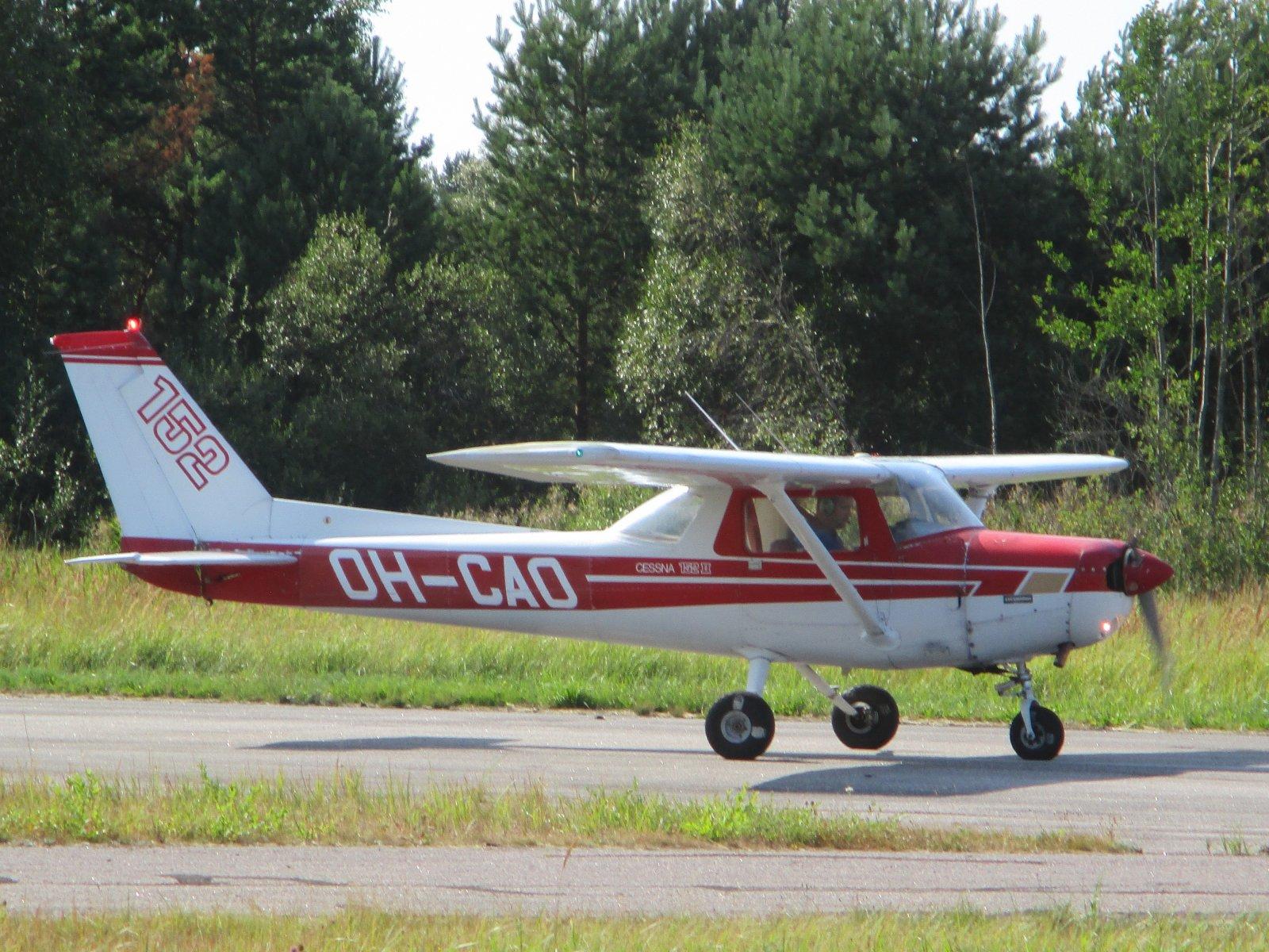 Cessna 152 II OH-CAO EFHN 2019-08-05