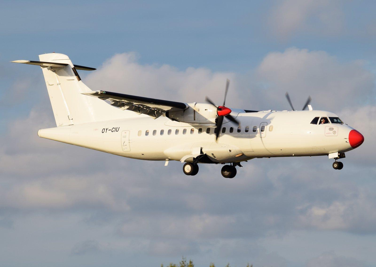 OY-CIU - ATR 42-300 - Danish Air Transport (DAT) - 30.8.2019