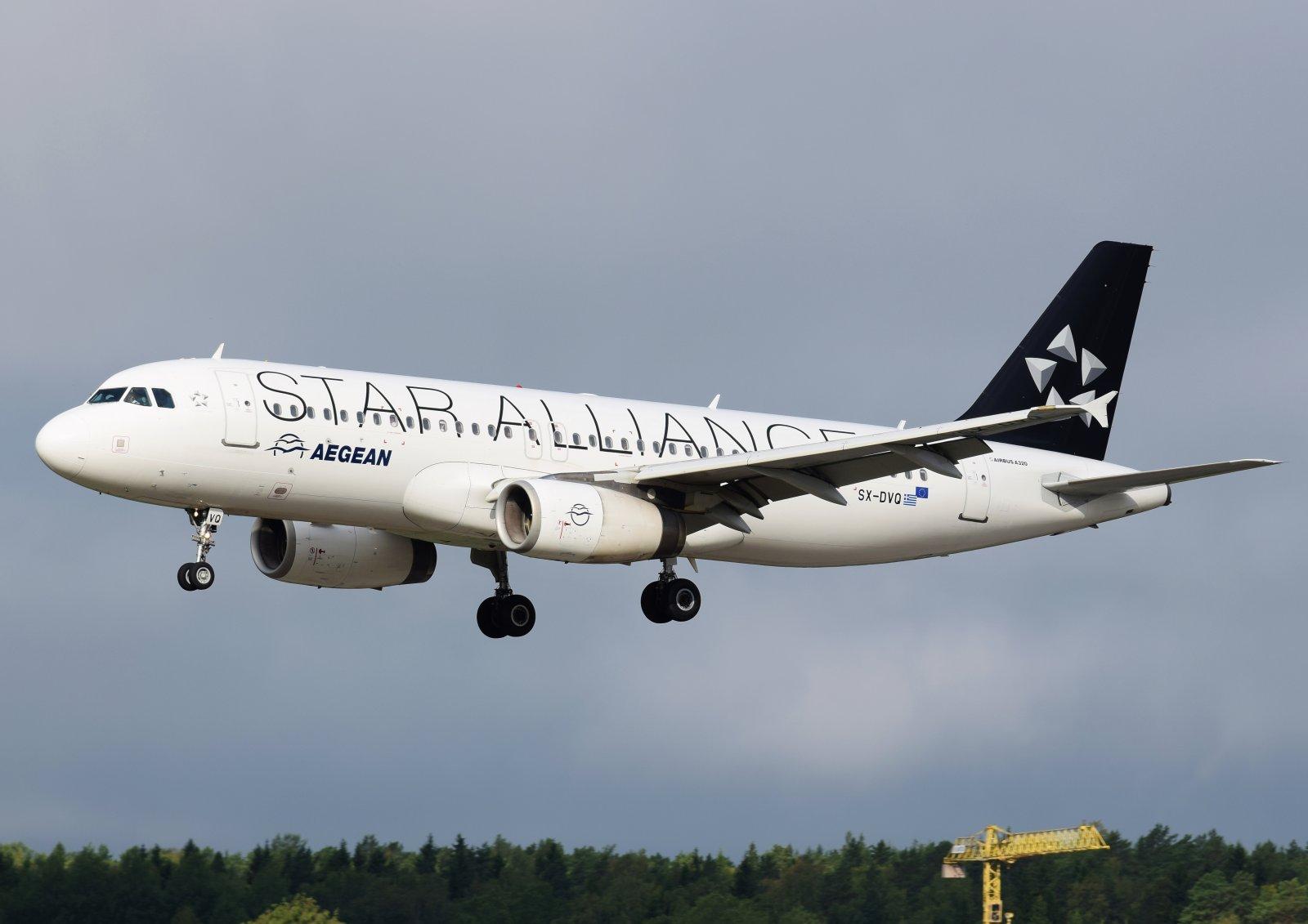 SX-DVQ - Airbus A320-232 - Aegean Airlines - 16.8.2019