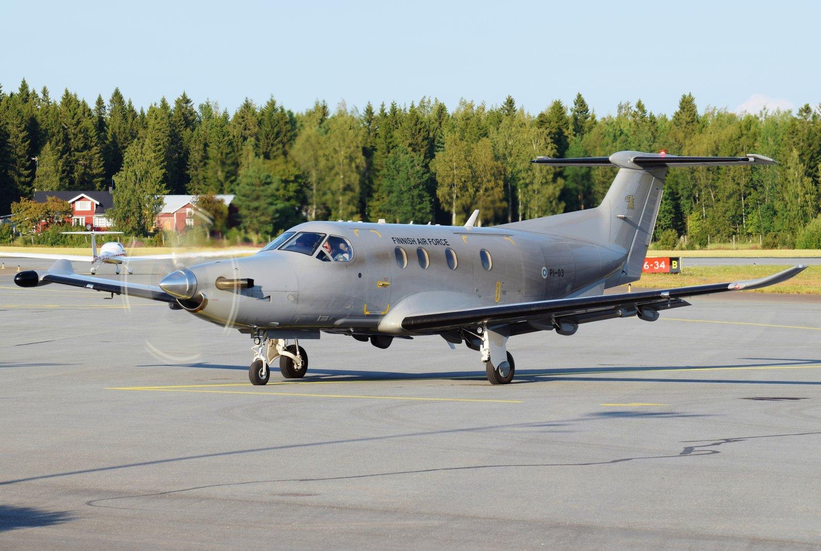 PI-03 - Pilatus PC-12/47E - Suomen Ilmavoimat - 9.8.2019