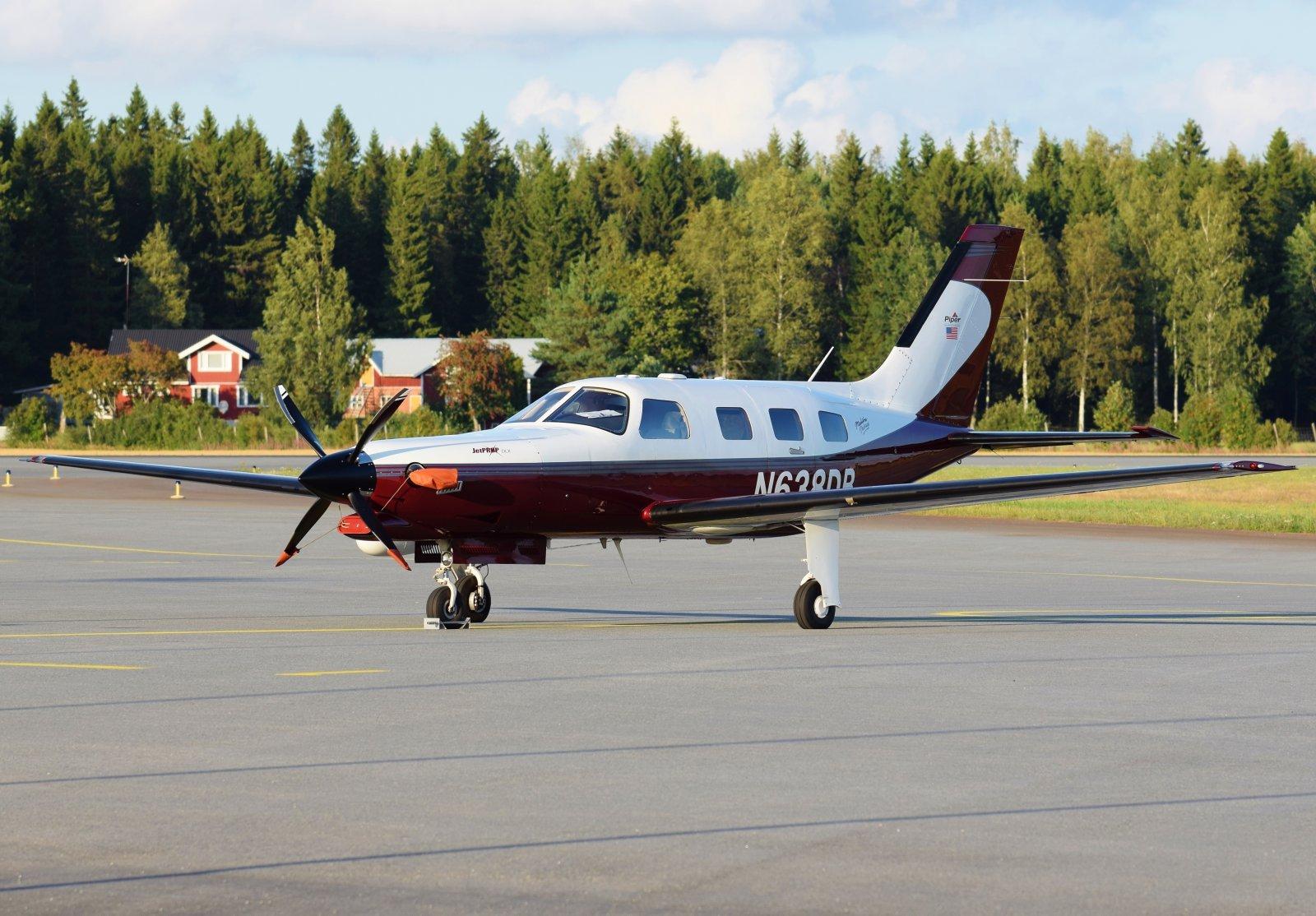 N638DB - Piper PA-46-350P Malibu Mirage (Jetprop DLX) - 19.8.2019