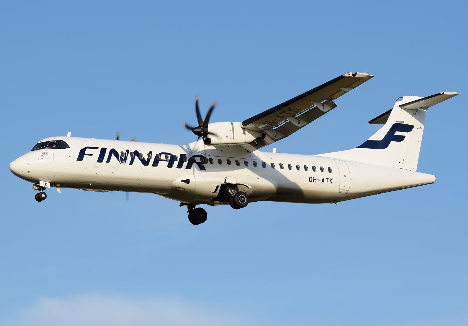 OH-ATK - ATR 72-500 - Finnair - 22.8.2019