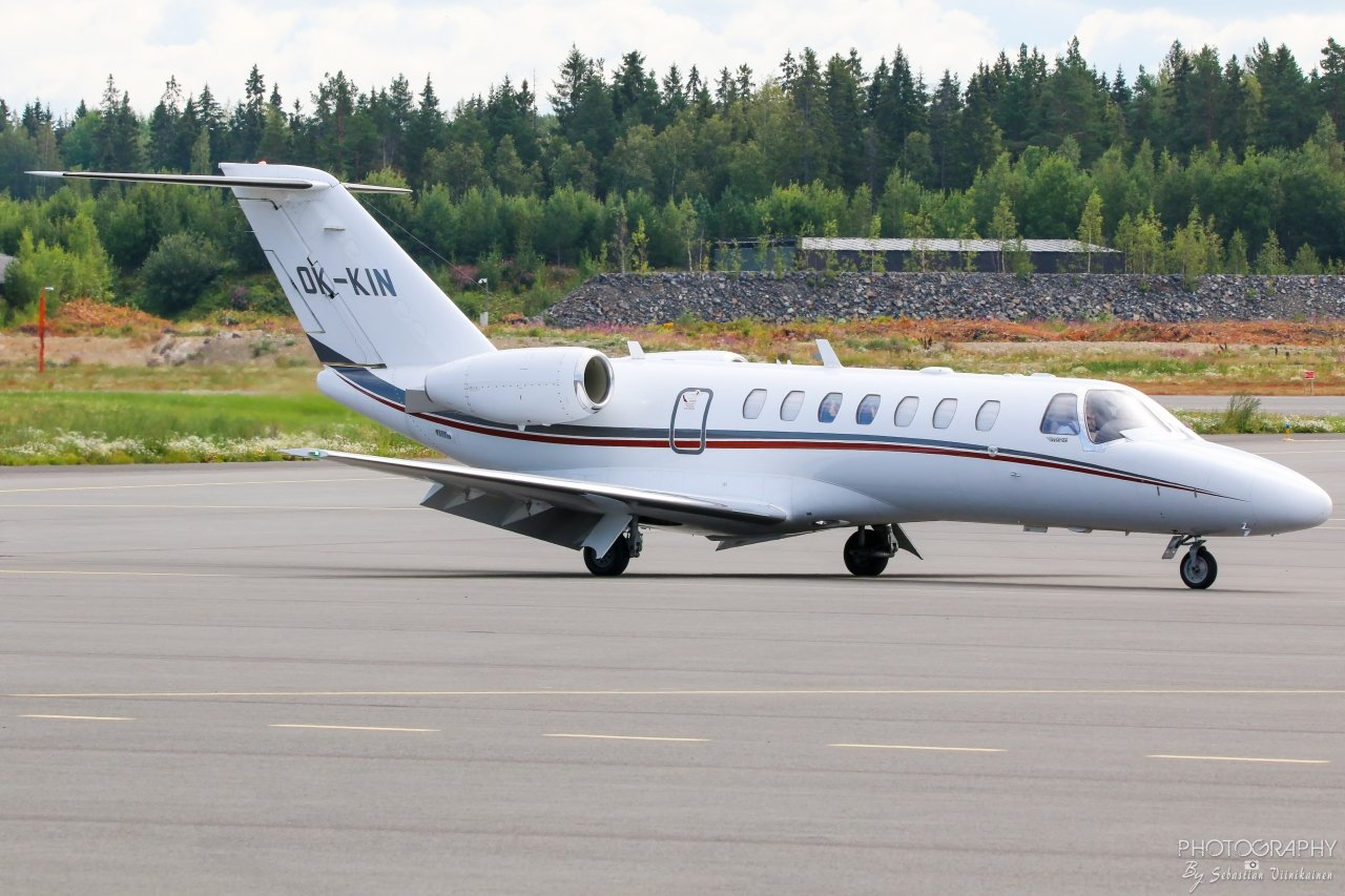 OK-KIN Cessna 525B CitationJet 3, 09.08.2019
