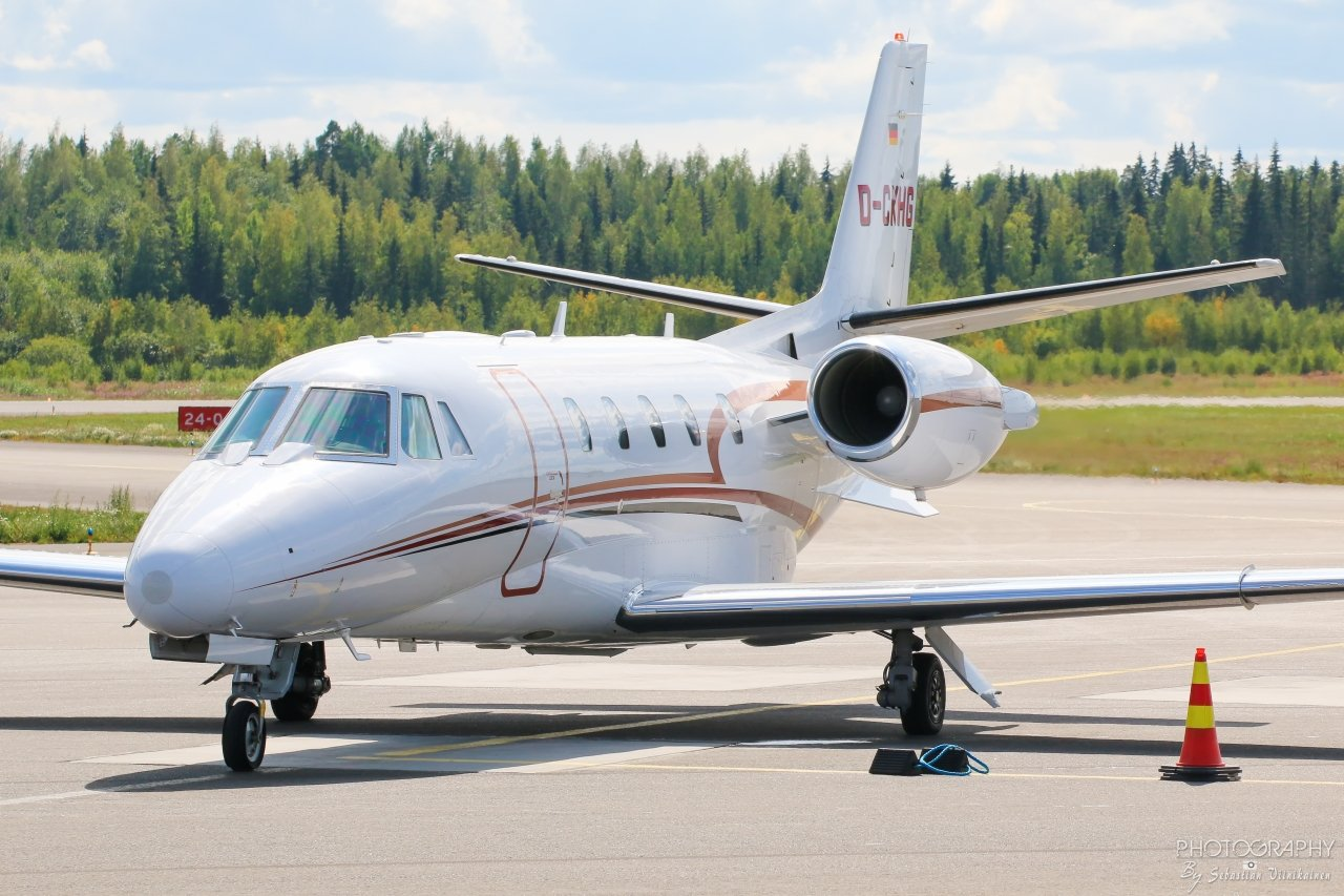 D-CKHG Cessna 560XL Citation XLS, 09.08.2019