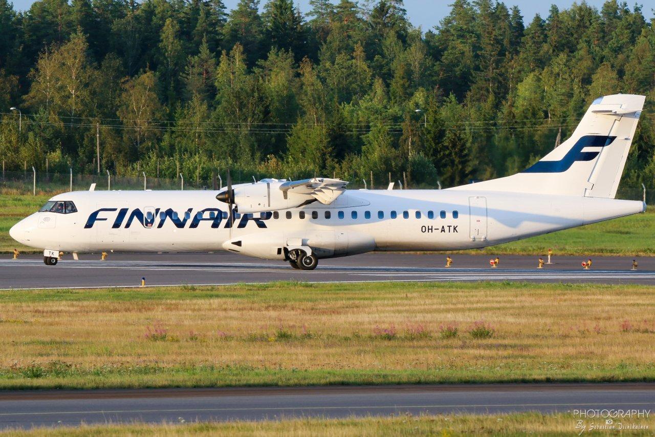 OH-ATK Norra ATR 72-500, 17.8.2019