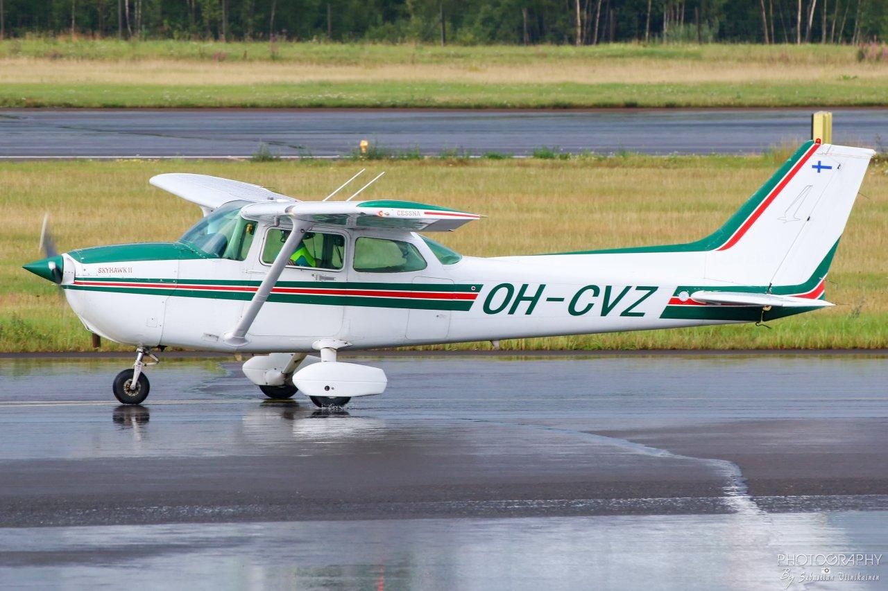 OH-CVZ Cessna 172P Skyhawk II, 18.8.2019