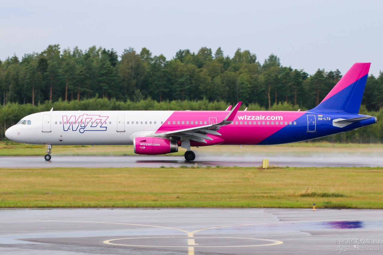 HA-LTA Wizz Air Airbus A321-200, 18.8.2019