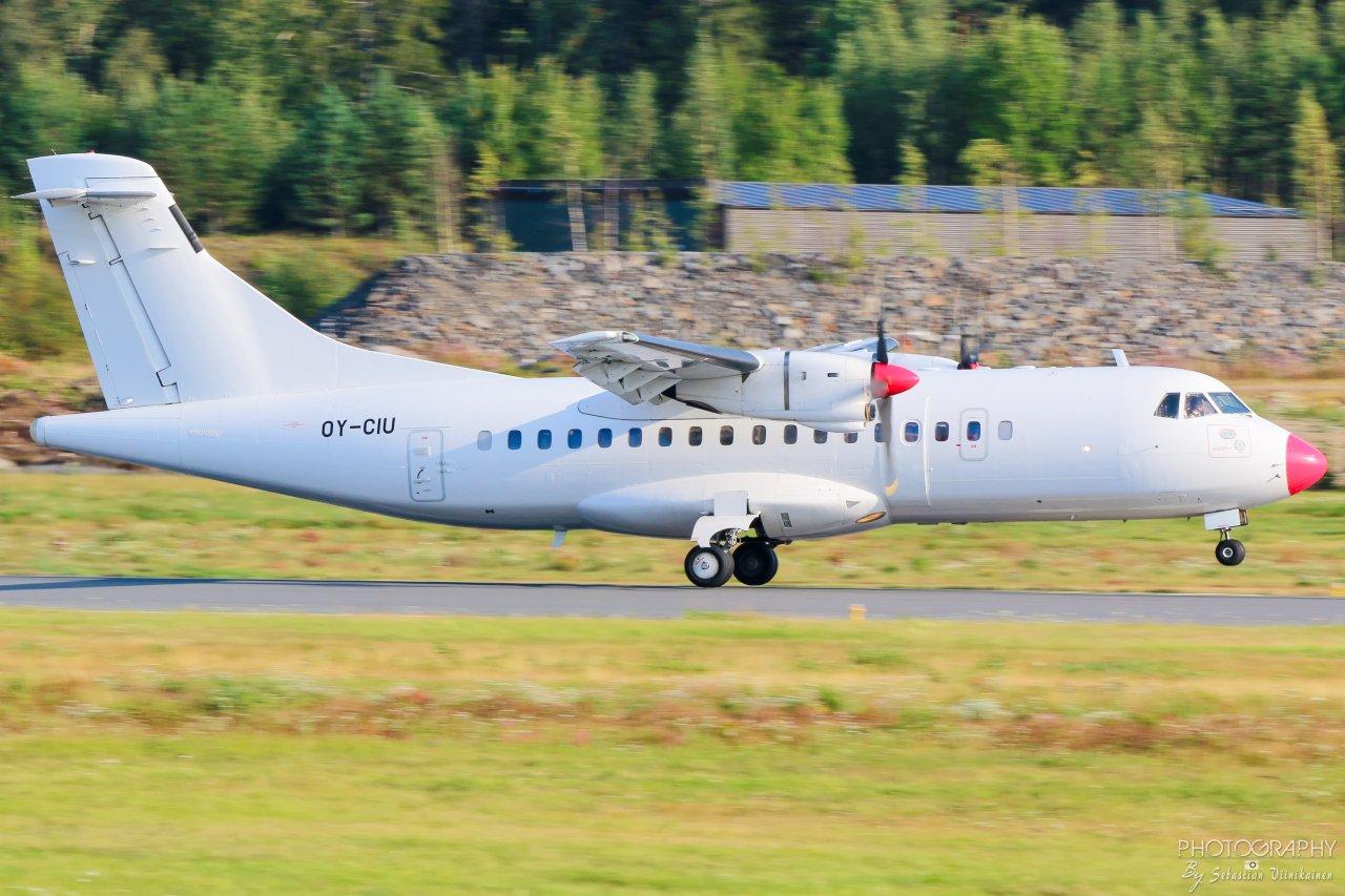 OY-CIU DAT ATR 42-300, 28.08.2019