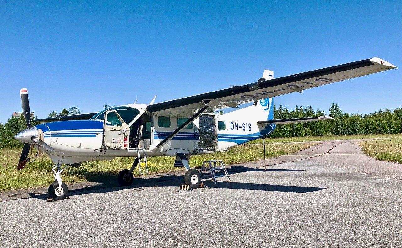 Cessna 208 Caravan OH-SIS EFHN 2019-07-20