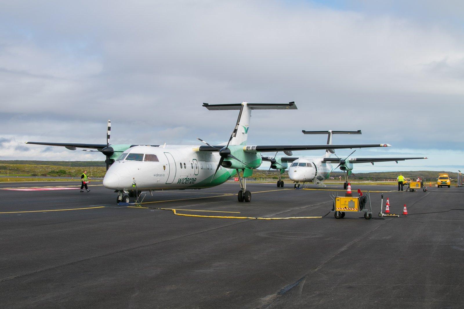 LN-WIB. De Havilland Canada DHC-8-103 Dash 8
