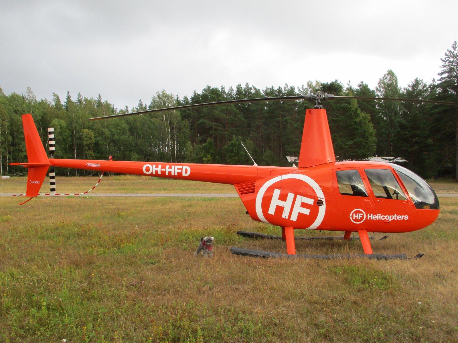 Robinson R44 Clipper II R44 OH-HFD EFHN 2019-08-11