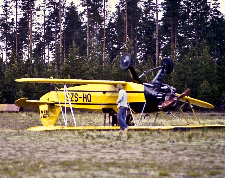 Focke Wulf Fw 44J Stieglitz OH-SZS EFIK 1975