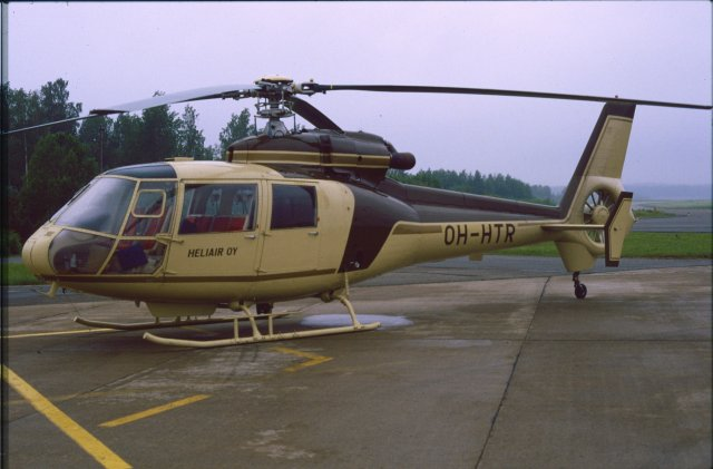 Aerospatiale S.A.360C Dauphin OH-HTR EFKU 1987-07