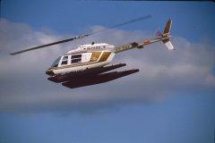 Bell 206B Jet Ranger III OH-HAA EFHK 1983-08-21