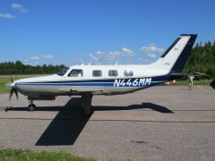 Piper PA-46-310P Malibu N446MM EFHN 2019-07-24