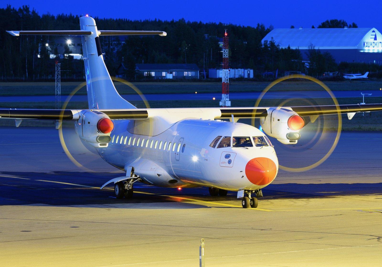 OY-CIU - ATR 42-300 - Danish Air Transport (DAT) - 23.9.2019