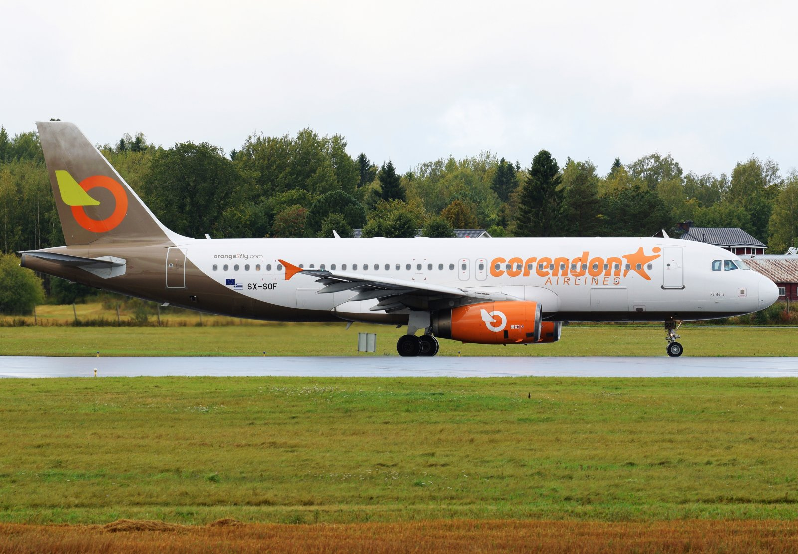 SX-SOF - Airbus A320-232 - Orange2Fly (Corendon Airlines) - 12.9.2019