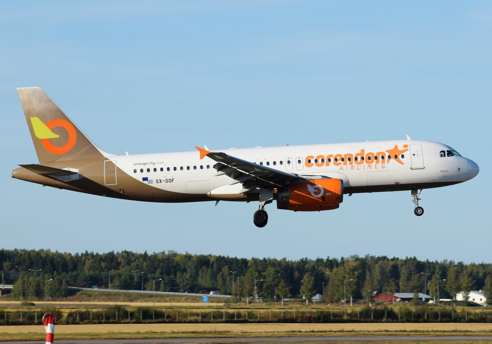 SX-SOF - Airbus A320-232 - Orange2Fly (Corendon Airlines) - 26.9.2019