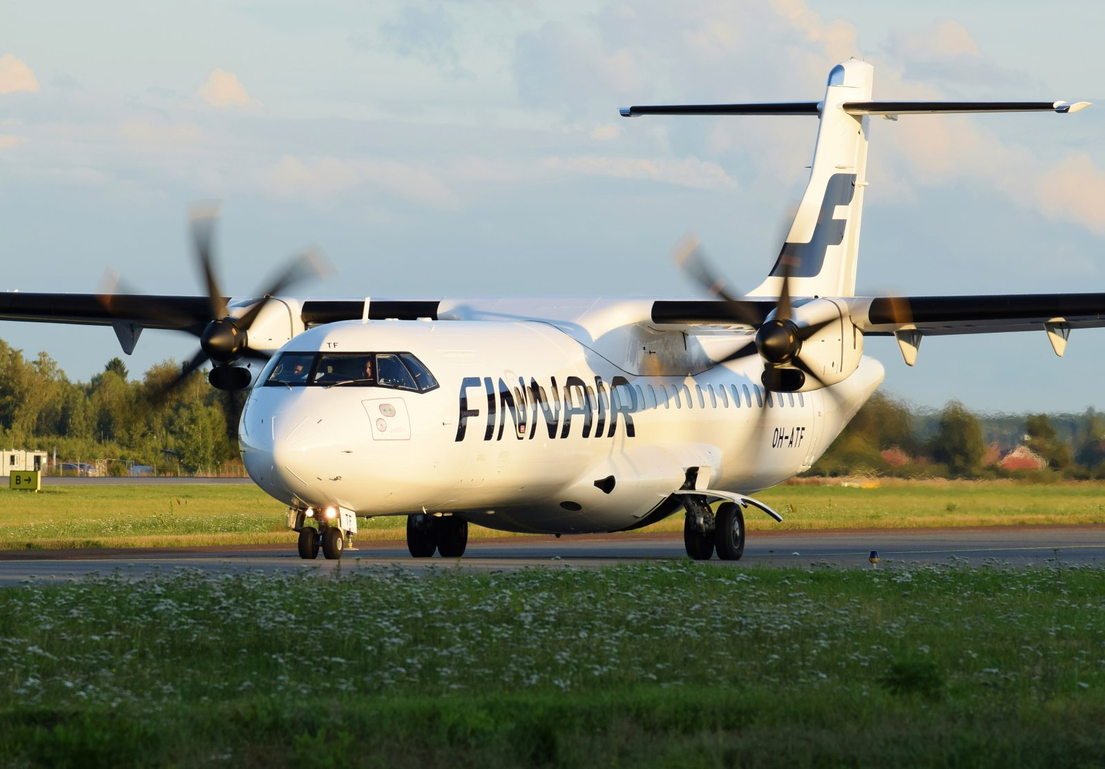 OH-ATF - ATR 72-500 - Finnair - 8.9.2019