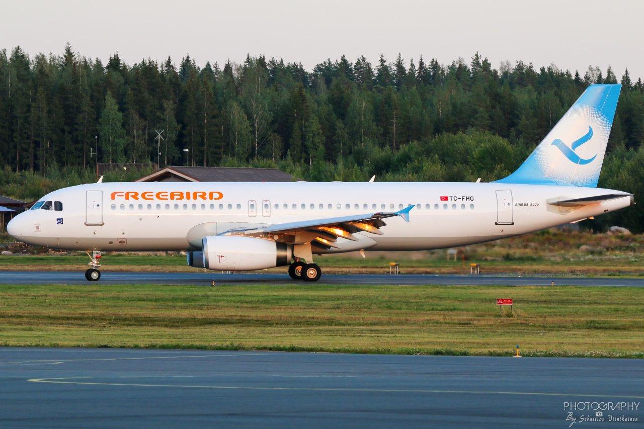 TC-FHG Freebird Airbus A320-200, 01.09.2019