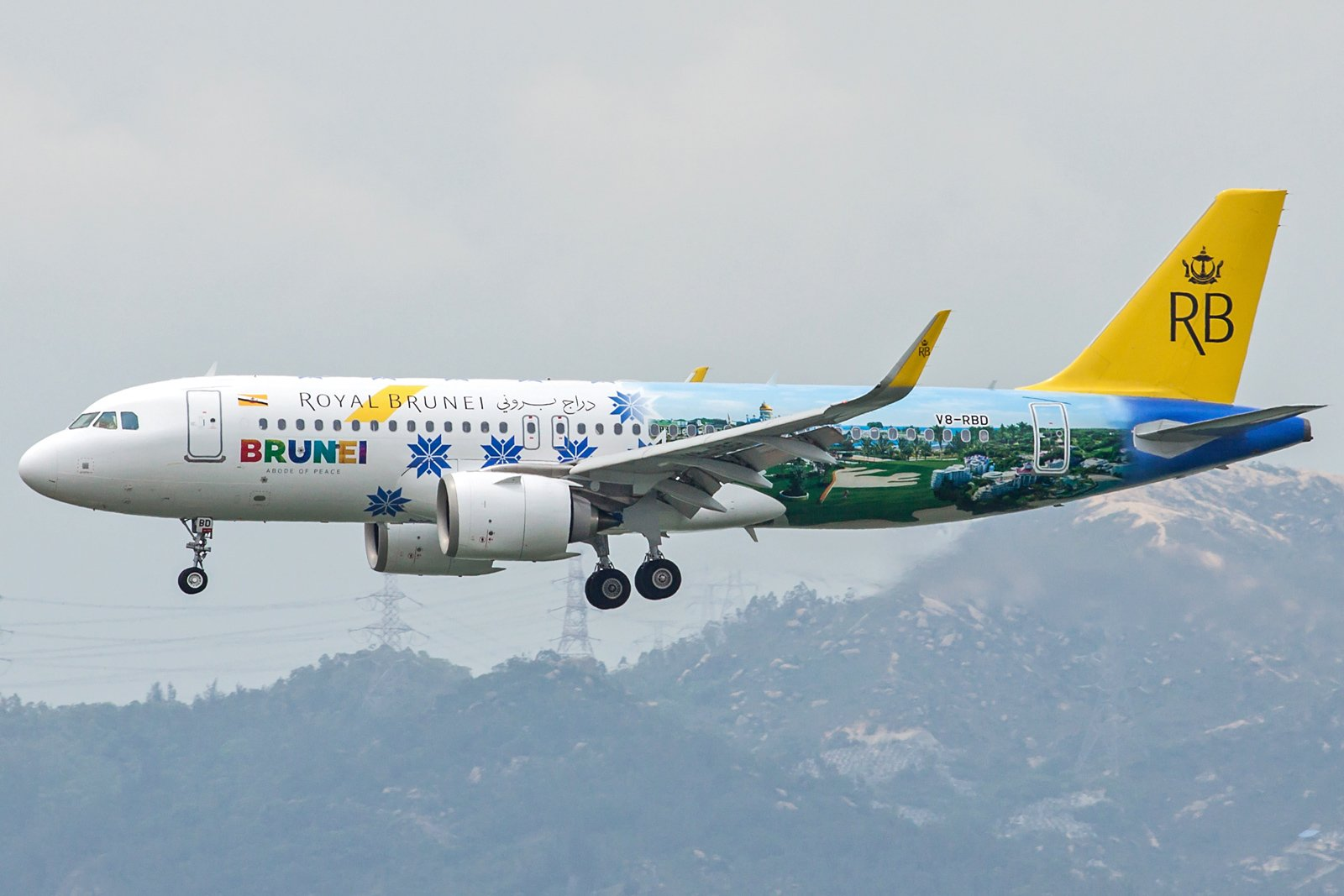 Royal Brunei Airlines Airbus A320-251N V8-RBD