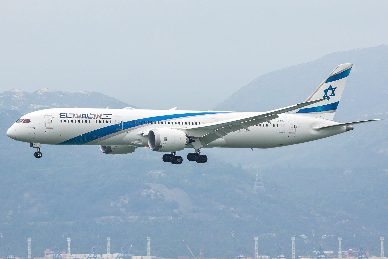 El Al Israel Airlines Boeing 787-9 Dreamliner 4X-EDJ