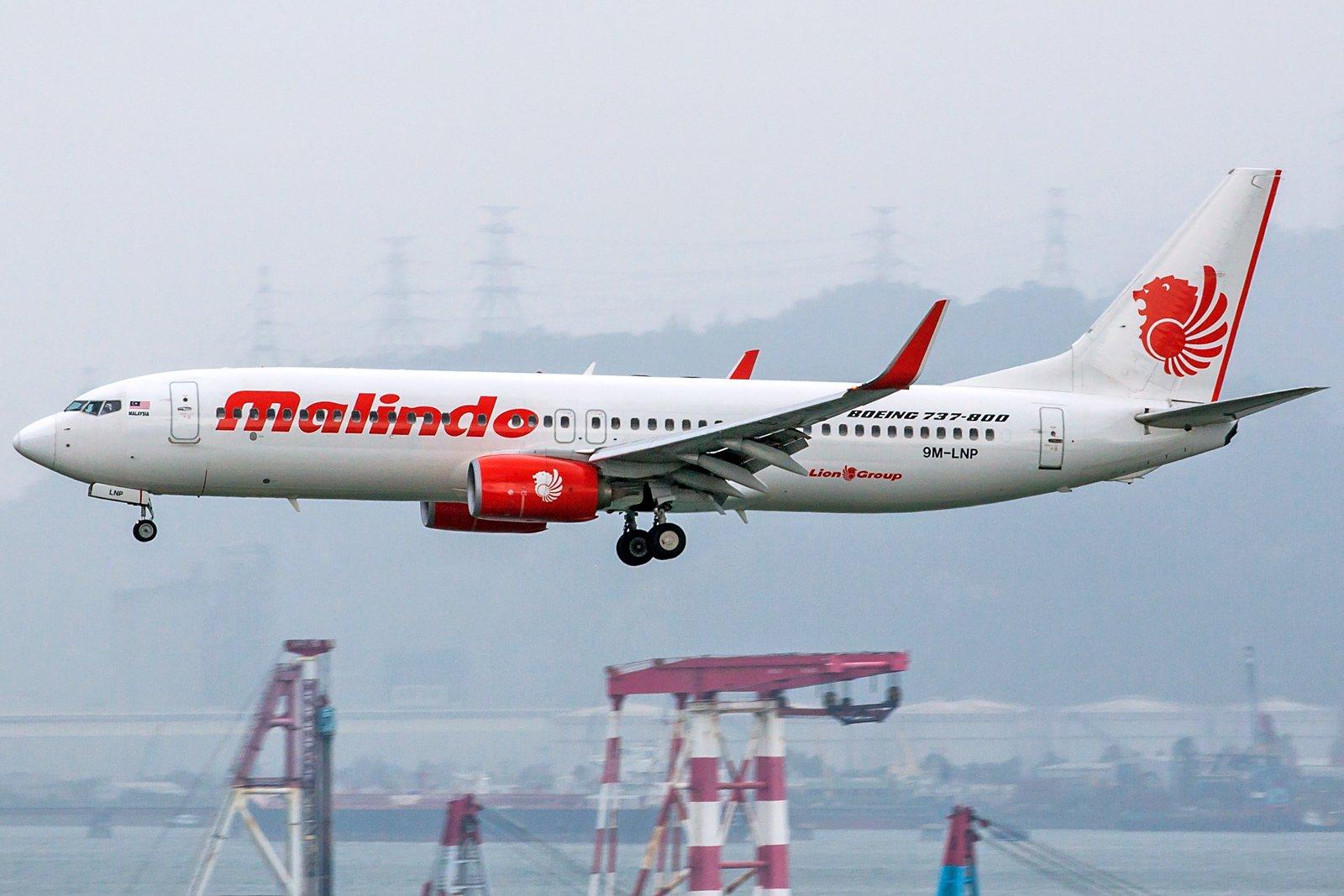 Malindo Air Boeing 737-8GP(WL) 9M-LNP