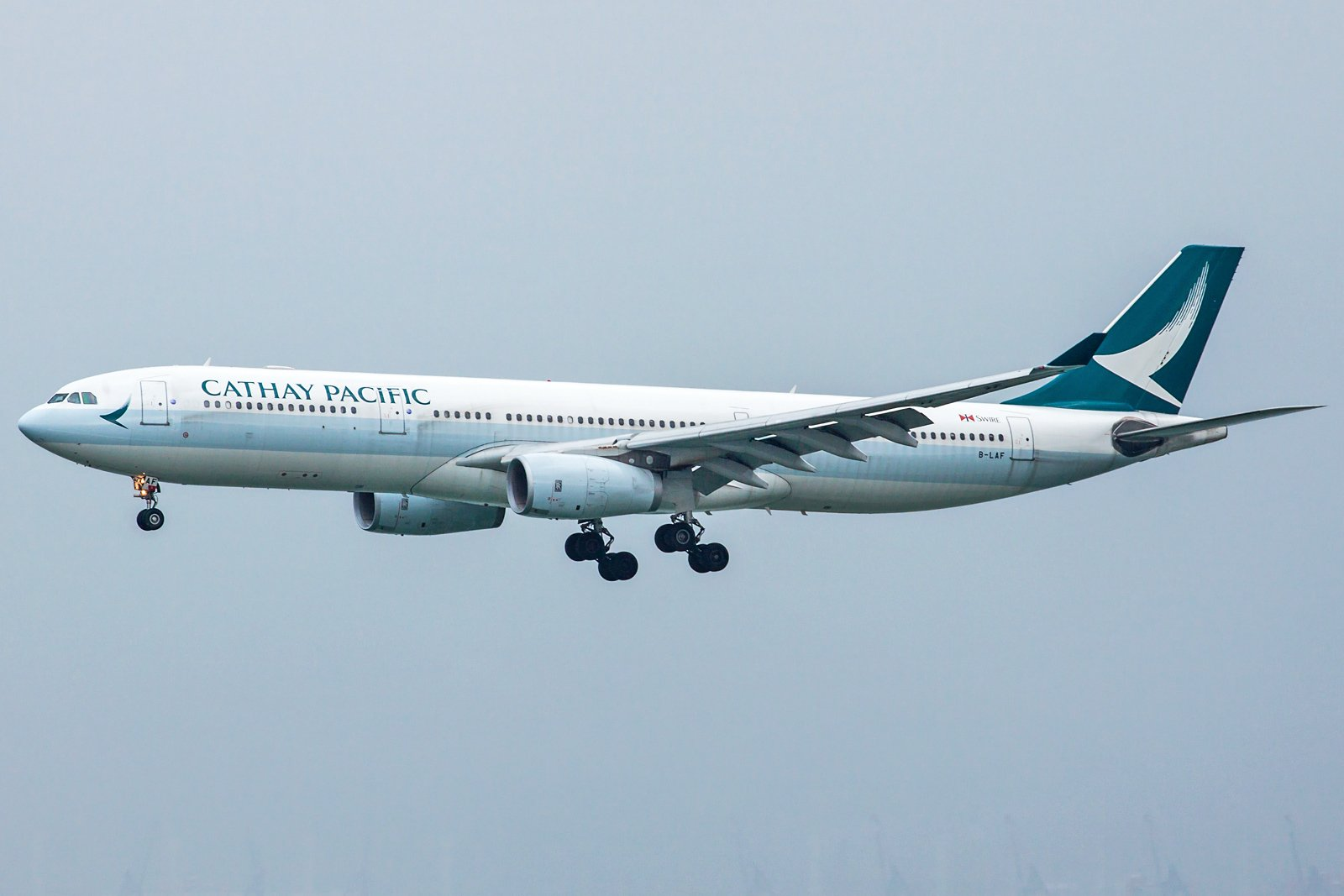 Cathay Pacific Airbus A330-342 B-LAF