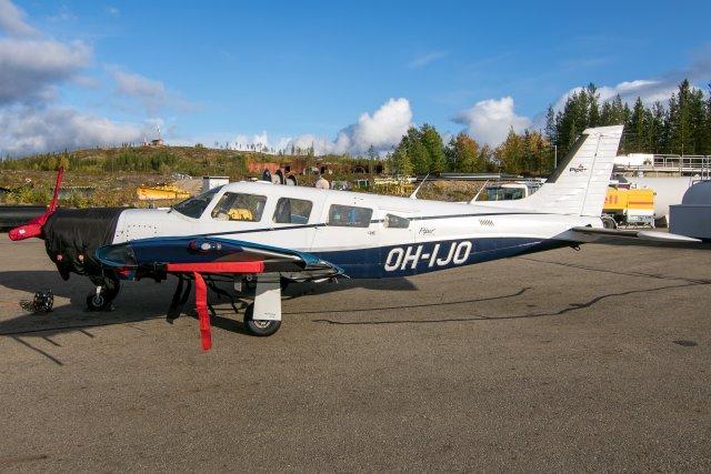 OH-IJO. Piper PA-32R-301T Turbo Saratoga. 21.9.2019