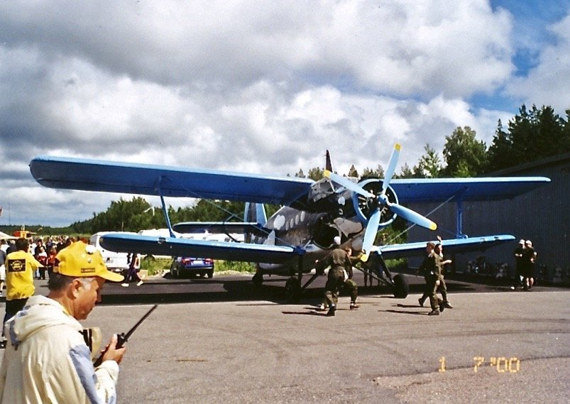 Antonov An-2TP ES-CAK EFHN 200-07-01
