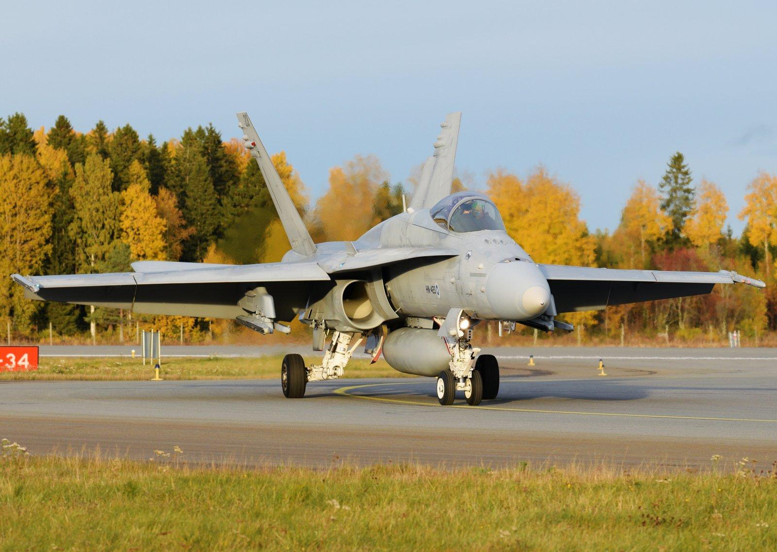 HN-423 - McDonnell Douglas F-18C Hornet - Suomen Ilmavoimat - 6.10.2019