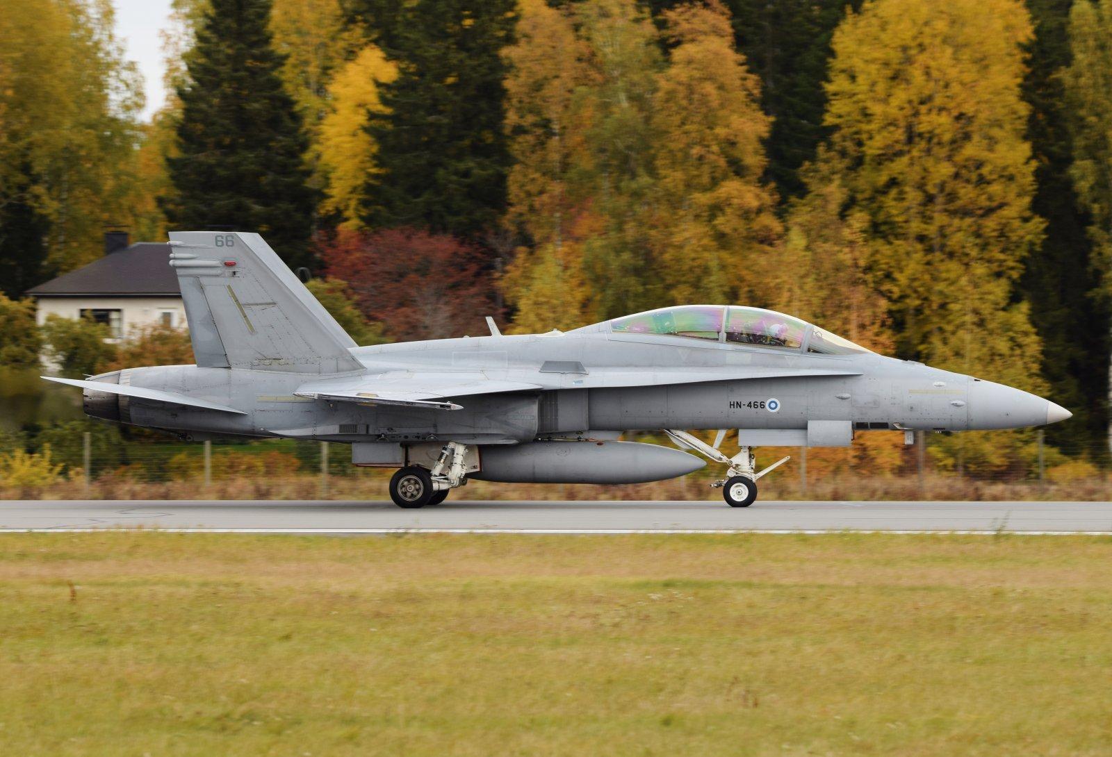 HN-466 - McDonnell Douglas F-18D Hornet - Suomen Ilmavoimat - 6.10.2019
