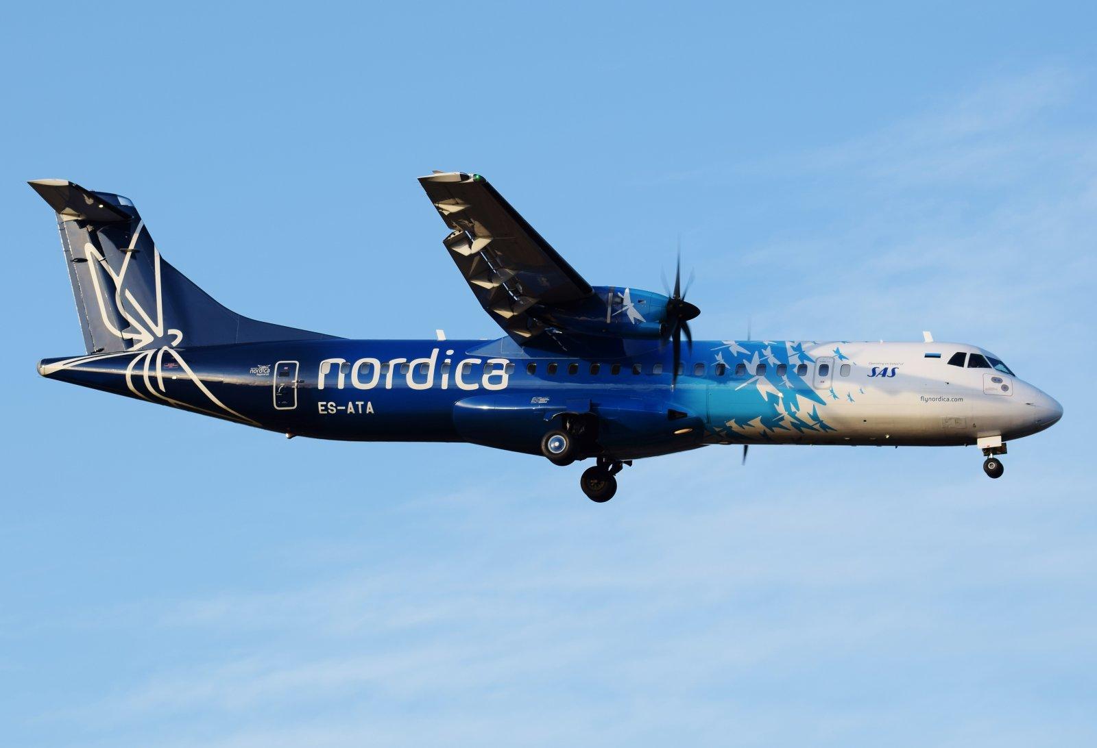 ES-ATA - ATR 72-600 - Nordica - 3.10.2019