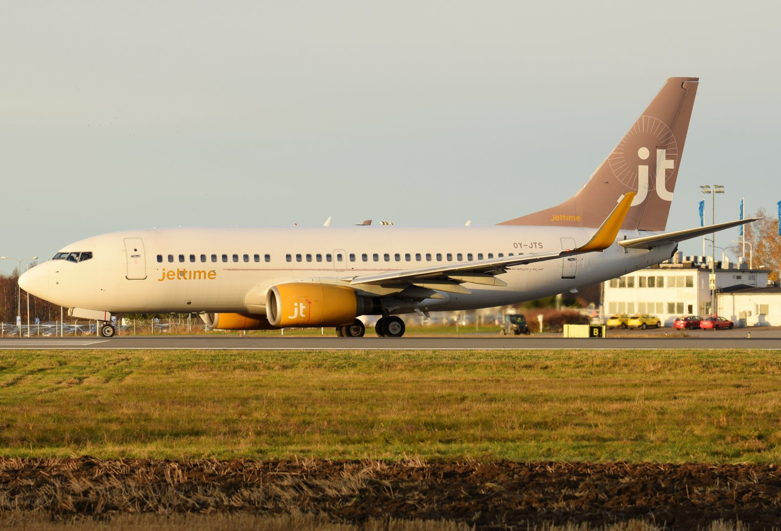 OY-JTS - Boeing 737-7K2 - Jettime - 23.10.2019