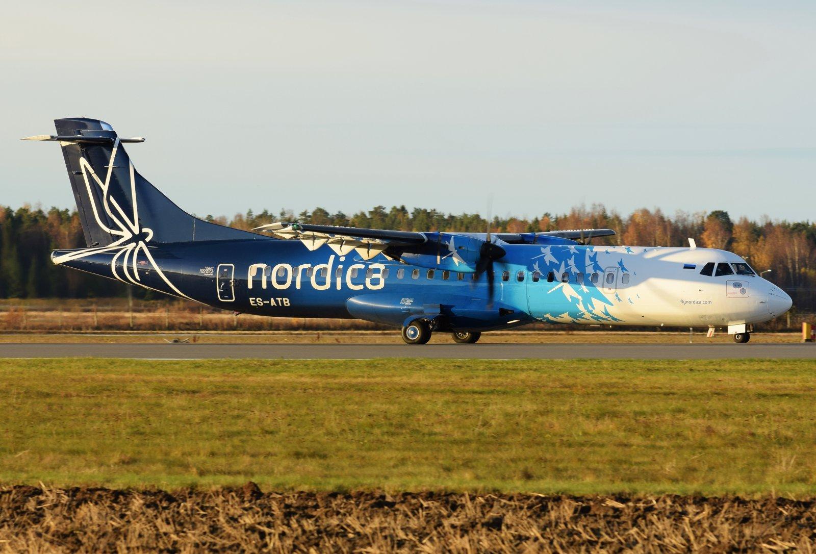 ES-ATB - ATR 72-600 - Nordica - 23.10.2019