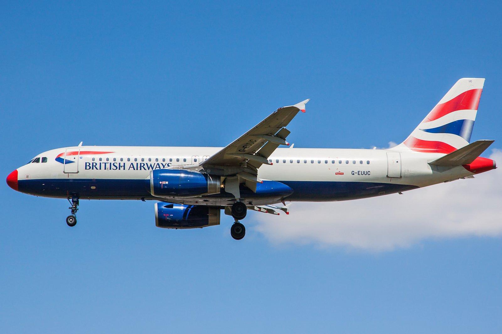 British Airways Airbus A320-232 G-EUUC